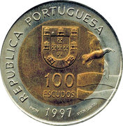 100 Escudos (Expo 98 - Lobo Marinho) -  obverse