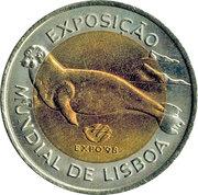 100 Escudos (Expo 98 - Lobo Marinho) -  reverse