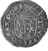 ½ Cruzado - Afonso VI (Without date, Lisbon) – obverse