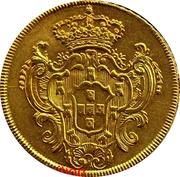 ½ Peça – Maria I & Pedro III – reverse