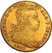 ½ Peça - João Prince Regent – obverse