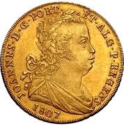 Escudo - João Prince Regent – obverse