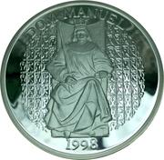 1000 Escudos (Dom Manuel I; proof issue) – reverse