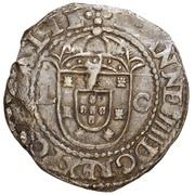 "Tostão - João IV (Lisbon mint ""L-C"") – obverse"