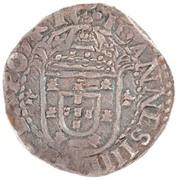 Tostão - João IV (Date around the Cross, Lisboa mint) – obverse