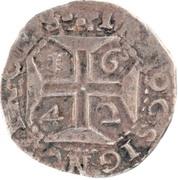 Tostão - João IV (Date around the Cross, Lisboa mint) – reverse