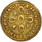 Morabitino - Afonso II – reverse