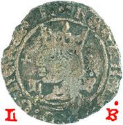 ½ Tornês de Busto - Fernando I (Lisboa mint) – obverse
