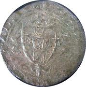 ½ Real Cruzado - João I (Lisboa mint) – reverse