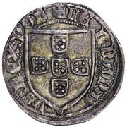 ½ Tornês Escudo - Fernando I (Lisboa mint) – obverse