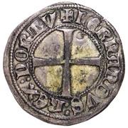 ½ Tornês Escudo - Fernando I (Lisboa mint) – reverse
