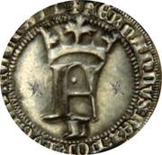Meio Real - Fernando I (F, Lisboa mint) – obverse