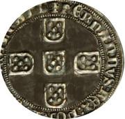 Meio Real - Fernando I (F, Lisboa mint) – reverse