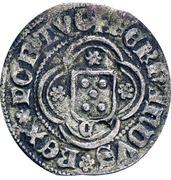 ½ Real Branco - Fernando I (Zamora mint) – reverse
