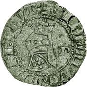 ¼  Barbuda - Fernando I (Porto mint) – obverse