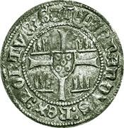 ½ Barbuda - Fernando I (Zamora mint) – reverse