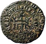 Real of 10 soldos - João I (Big disk; Porto mint) – obverse