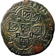 Real of 10 soldos - João I (Big disk; Porto mint) – reverse