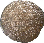 Real of 10 soldos - João I (Small disk; Lisboa mint) – obverse