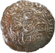 Real of 10 soldos - João I (Small disk; Lisboa mint) – reverse