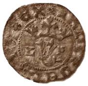 ½ Real Branco – João I (Lisboa mint) – obverse