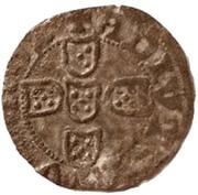 ½ Real Branco – João I (Lisboa mint) – reverse
