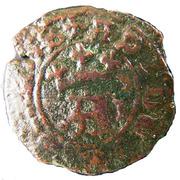 """½ Real Preto - Afonso V (""""L""""; Lisboa mint) – obverse"""