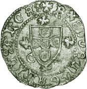 ½ Real Grosso- Afonso V (Ceuta mint) – obverse