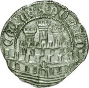 ½ Real Grosso- Afonso V (Ceuta mint) – reverse