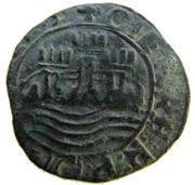 Ceitil - João II (Group 4 - Straight outside wall with battlements) – obverse