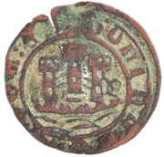 Ceitil - Afonso V (Group 6 - Castle with towers formed by square elements; towers without battlements) – obverse