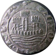 Ceitil - Afonso V (Group 8 - Castle with  closed regular outside wall) – obverse