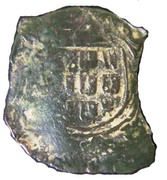 Ceitil - João III (Group 7 - Castle with high wall, with or without door) – reverse