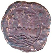 Ceitil - João III (Group 5 - Castle with low wall, with or without door, central tower far from the wall) – obverse