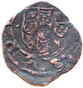 Ceitil - João III (Group 5 - Castle with low wall, with or without door, central tower far from the wall) – reverse