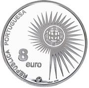8 Euro (Enlargement of EU; .925 Silver) -  obverse