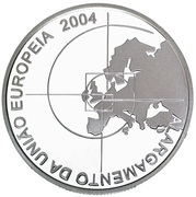 8 Euro (Enlargement of EU; .925 Silver) -  reverse