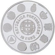 10 Euro (Cathedral of Porto; proof issue) – obverse