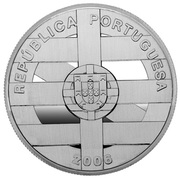10 Euro (EU Membership of Portugal and Spain; proof issue) – obverse