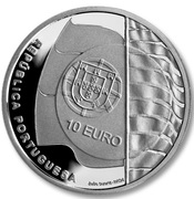 10 Euro (ISAF Sailing World Championship; Proof issue) – obverse