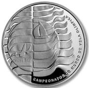10 Euro (ISAF Sailing World Championship; Proof issue) – reverse