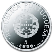 5 Euro (World Heritage - Laurisilva of Macaronesia; Proof issue) -  obverse