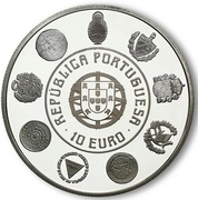 10 Euro (Escudo; Proof issue) – obverse