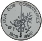 1000 Escudos (Liga dos Combatentes; Proof) – reverse
