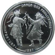 1000 Escudos (Pauliteiros Dancers; Proof) – reverse