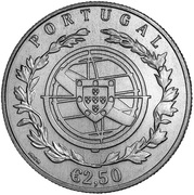 2½ Euro (100th anniversary  of Fátima) -  obverse