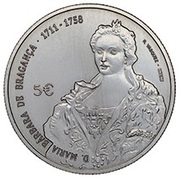 5 Euro (D. Maria Bárbara) -  obverse