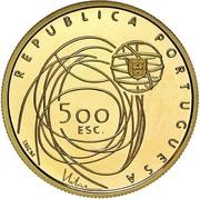 500 Escudos (European Culture Capital; Gold) – obverse