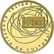 500 Escudos (European Culture Capital; Gold) – reverse