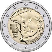 2 Euro (Raul Brandão) -  obverse